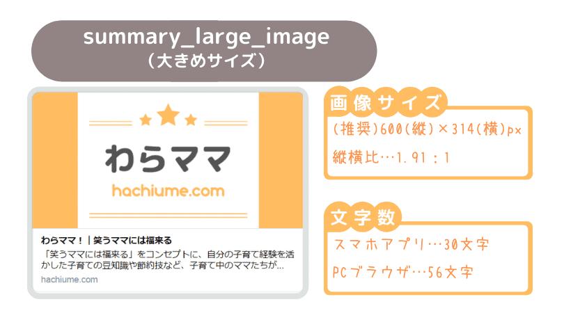 ブログカードサイズ:summary_large_image
